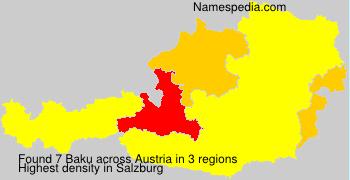 Surname Baku in Austria