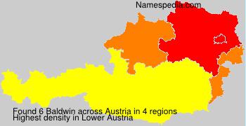 Surname Baldwin in Austria