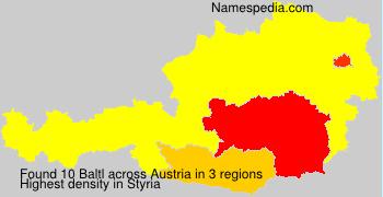Familiennamen Baltl - Austria