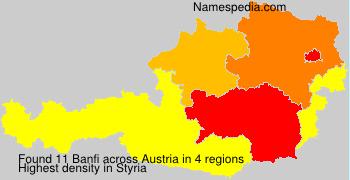 Familiennamen Banfi - Austria