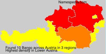 Surname Bango in Austria