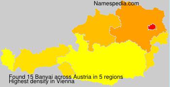 Surname Banyai in Austria