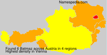 Surname Batmaz in Austria