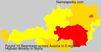 Surname Beermann in Austria
