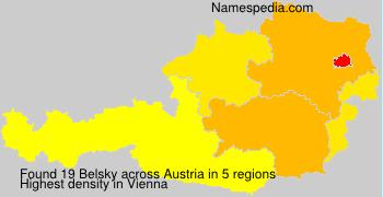 Surname Belsky in Austria