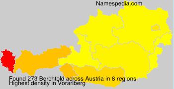 Surname Berchtold in Austria