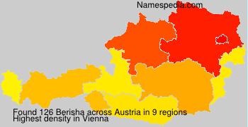 Familiennamen Berisha - Austria