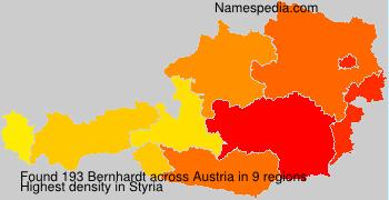 Surname Bernhardt in Austria