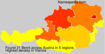 Surname Bernt in Austria