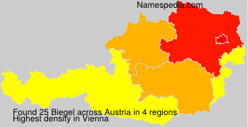 Familiennamen Biegel - Austria