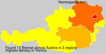 Surname Biernat in Austria