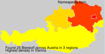 Surname Bierwolf in Austria