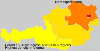 Familiennamen Bilalic - Austria
