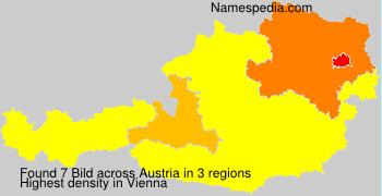 Surname Bild in Austria
