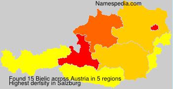 Surname Bjelic in Austria