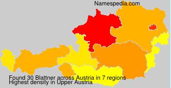 Familiennamen Blattner - Austria