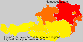 Surname Bleier in Austria