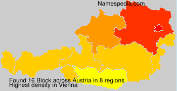 Surname Block in Austria