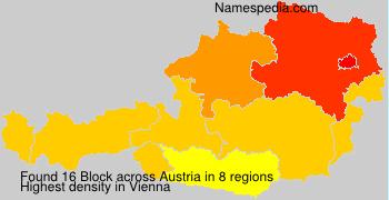 Familiennamen Block - Austria