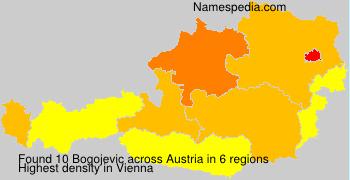 Surname Bogojevic in Austria