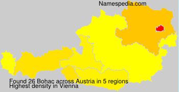Familiennamen Bohac - Austria