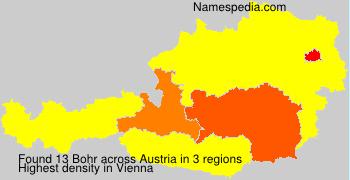 Familiennamen Bohr - Austria