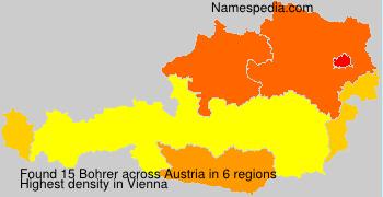Surname Bohrer in Austria