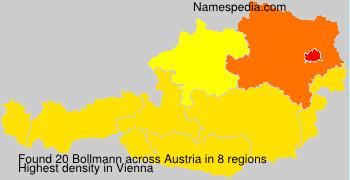 Surname Bollmann in Austria