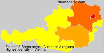 Surname Boran in Austria