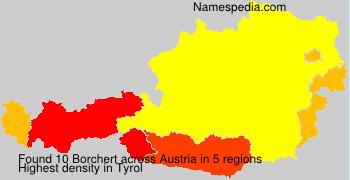 Familiennamen Borchert - Austria