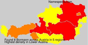 Surname Bormann in Austria