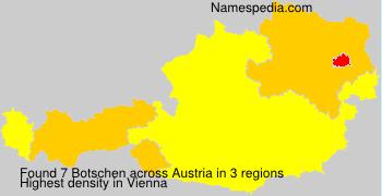 Surname Botschen in Austria