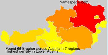 Surname Bracher in Austria