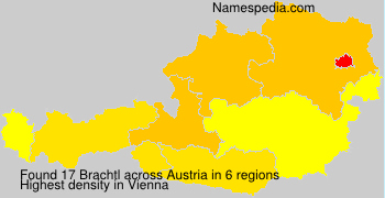 Familiennamen Brachtl - Austria