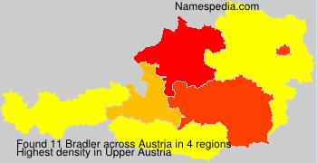 Surname Bradler in Austria