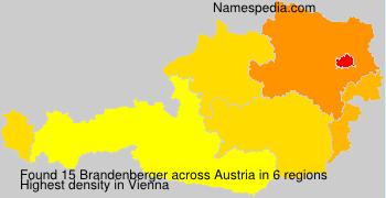 Familiennamen Brandenberger - Austria