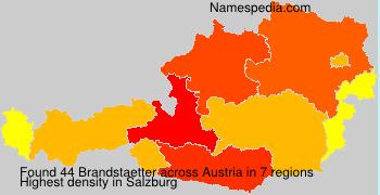 Surname Brandstaetter in Austria