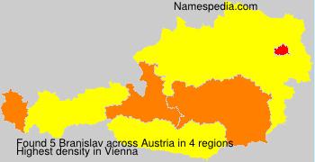 Surname Branislav in Austria