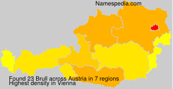 Surname Brull in Austria