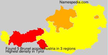 Familiennamen Brunel - Austria
