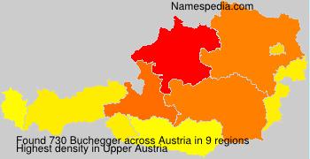 Familiennamen Buchegger - Austria