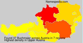 Familiennamen Buchmaier - Austria