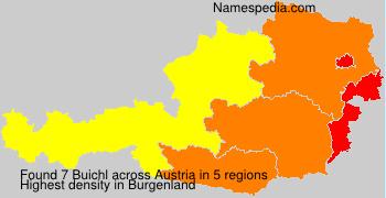 Surname Buichl in Austria