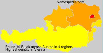 Surname Bujak in Austria