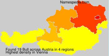 Surname Bull in Austria