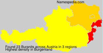 Surname Buranits in Austria