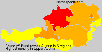 Surname Burkl in Austria