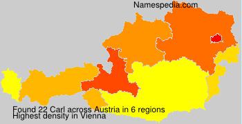 Surname Carl in Austria