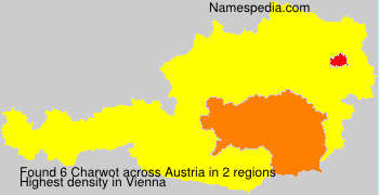 Surname Charwot in Austria