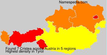 Surname Cristea in Austria
